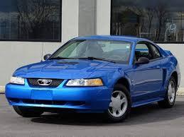 2000 blue mustang 2000 ford mustang photos specs radka car s