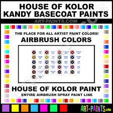 house of kolor kandy basecoats airbrush spray paint colors house