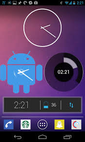 best clock widget for android 6 best android clock widgets screengrab