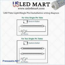 wiring diagram for led tube light diagram download free
