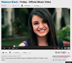 friday rebecca black rick perry u0027s u0027strong u0027 ad surpasses rebecca black u0027s u0027friday u0027 with