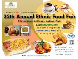 Balboa Park Map San Diego by Ethnic Food Fair May 23 And 24 At Balboa Park Downtown San Diego