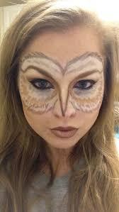 Snowy Owl Halloween Costume 25 Owl Makeup Ideas Fantasy Makeup Crazy