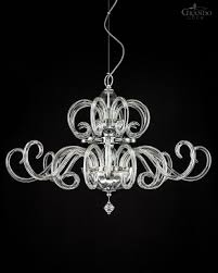 Crystal Chandelier Band 119 Sg Chrome Modern Crystal Chandelier With Crystal Swarovski