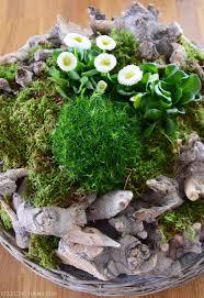 Esszimmertisch Selber Machen Gefüllter Frühlingskranz Oder Diy Frühlingslandschaft Selber