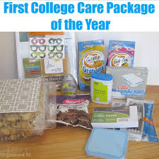 college care package ideas college care package of the year organized 31