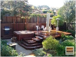 backyards amazing small backyard decks a deck ideas be more when