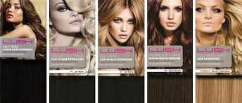 lush hair extensions human clip in hair extensions