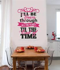 tribal panther puma wall art sticker decal ar740 191909450778 i ll be yours through the years vinyl decal wall sticker words wedding love art