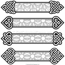 coloring pages bookmarks celtic knot bookmarks coloring pages 9 getcoloringpages org