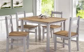 gracie oaks rodgers solid wood 5 piece dining set u0026 reviews wayfair