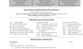sample medical bill and medical billing and coding resume example