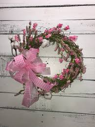 small farmhouse style spring wreath small spring wreath spring