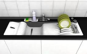 sink design clever sink design saves water and time when doing the dishes