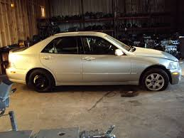lexus is300 silver 2003 lexus is300 model 4 door sedan 3 0l at 2wd color silver stk