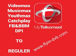 spoof host youthmax telkomsel cara merubah kuota videomax musicmax youthmax catchplay fb bbm dpi