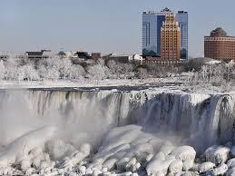 frozen niagara falls u2026 strange sight u2013 natarajan