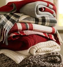 throw by the fall winter plaid blankets snuggle up a warm and cozy