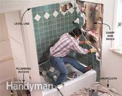 How To Install A Bathtub Surround How To Install A Whirlpool Tub Family Handyman