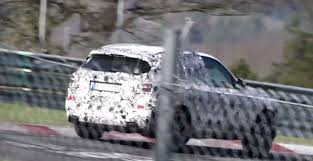 is this the 2018 bmw x3 m40i testing at the nurburgring