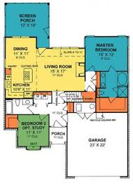 Cottage Floor Plans With Screened Porch Plan 1279 1200 Sq Ft House Plan With 3 Car Garage And Walk In