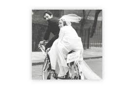 Just Married Cards Just Married Bicycle Wedding Card Cyclemiles