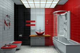 Red And Black Bathroom Accessories by Red Bathroom Design Red And Black Bathroom Decor Tsc