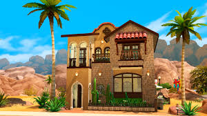 Mediterranean Style House by Mod The Sims Mi Casa Mediterranean Style House No Cc