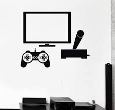 Video Game Home Decor Online Get Cheap Computer Game Wall Decals Aliexpress Com