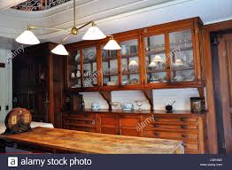 the elms mansion newport rhode island usa kitchen stock photo