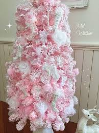 Shabby Chic Christmas Tree by 443 Best Pink Christmas Images On Pinterest Christmas Ideas