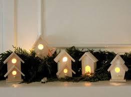 mini lights for christmas village diy christmas village holidays pinterest diy christmas village