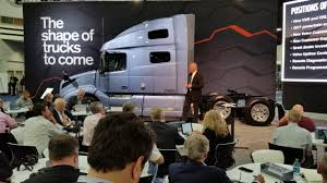 new volvo tractor trailers for sale north american commercial vehicle show atlanta 2017 the