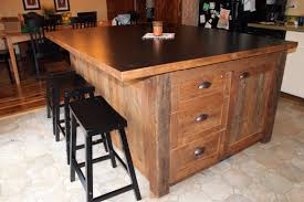 kitchen island made from reclaimed wood a season brings ideas fence row furniture