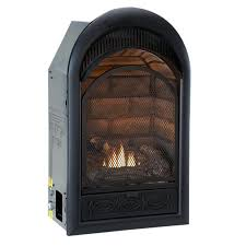 ventless propane fireplace insert with blower vent free gas