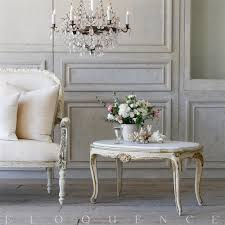 white vintage coffee table french country style eloquence vintage coffee table with marble top