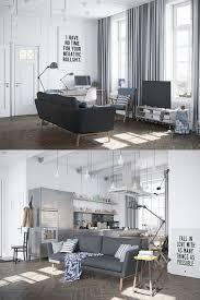living room scandinavian living room features dark grey mid