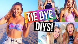 must try tie dye diys shorts t shirt u0026 room decor