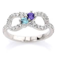 mothers infinity ring shop infinity birthstone ring on wanelo