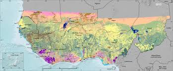 Sahel Desert Map Land Use And Land Cover Trends In West Africa West Africa