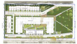 Ferry Terminal Floor Plan by Application Filed For Bainbridge Landing Development Minding