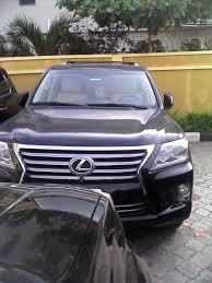 lexus lx 570 bulletproof lexus lx 570 jeep for sale almost brand new autos nigeria