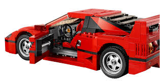 lego ferrari speed champions the brickverse lego ferrari f40
