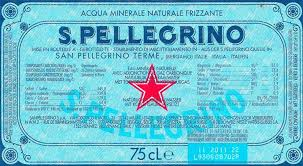 thanksgiving water bottle labels s pellegrino label do you know the story
