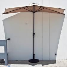 Half Umbrella Patio Joesbargain