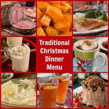 traditional dinner menu mrfood