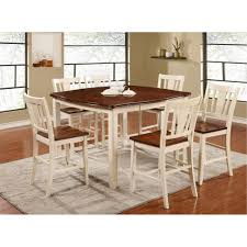 white wood dining room table counter height dining sets dining room rc willey