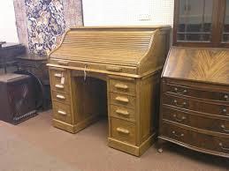 roll top desk tambour a lebus solid medium oak roll top desk tambour shutter enclosing