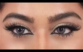 dramatic cat eye liner makeup tutorial youtube