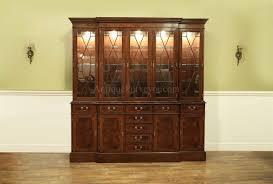 mahogany china cabinet furniture large traditional high end mahogany china cabinet